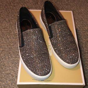 Michael Kors Keaton slip on shoes. 6